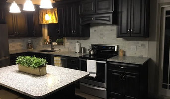 Midnight Black Cabinets
