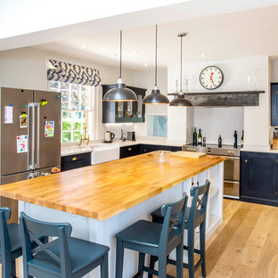 Midnight blue kitchen - Berkshire