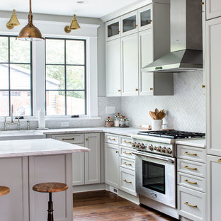 Traditional kitchen appliance - Example of a classic kitchen design in Atlanta