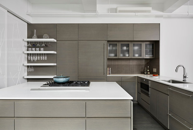 Contemporary Kitchen by studio PPARK