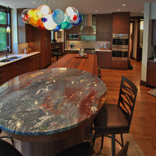Transitional Kitchen by The Collection on 5