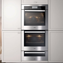 """Miele 30"""" Double Convection Oven Stainless Steel 