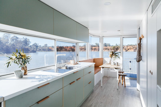Beach Style Kitchen by Haymes Paint