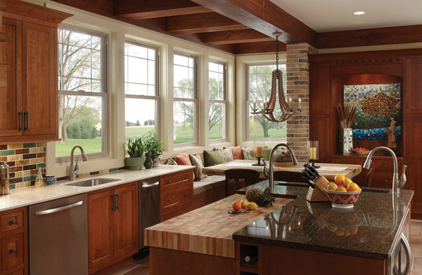 Traditional Kitchen by Milgard Windows & Doors