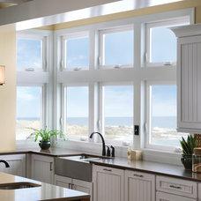 Eclectic Kitchen by Milgard Windows & Doors