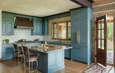 New This Week: 6 Stylish Not-White Kitchen Cabinet Colors