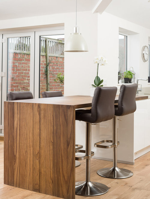 Small breakfast bar houzz - Small kitchen with breakfast bar ...