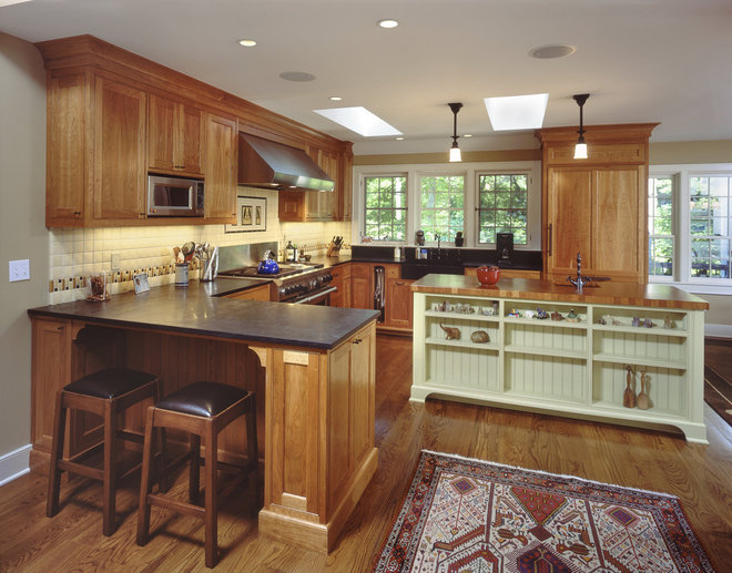 Traditional Kitchen by Rob Sanders Architects LLC