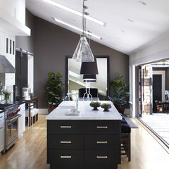 contemporary kitchen by Urrutia Design
