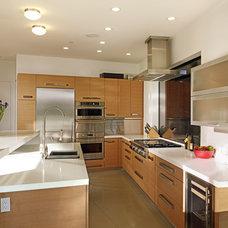 Contemporary Kitchen by DANIEL HUNTER AIA Hunter architecture ltd.