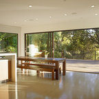 Mill Valley Contemporary KITCHEN DINING INDOOR OUTDOOR