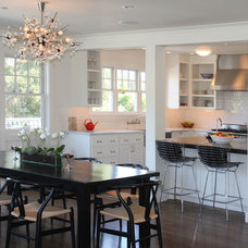 Transitional Kitchen by SoYoung Mack Design, Assoc. AIA
