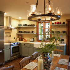 Traditional Kitchen by Suzanne Childress Design