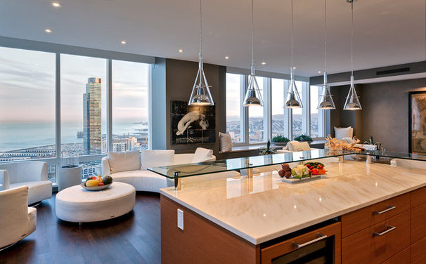 Contemporary Kitchen by MB Jessee