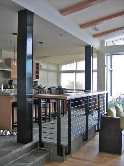 Contemporary Kitchen by Thomas Ramey's  Essentials in Steel