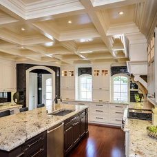 Traditional Kitchen by Leslie Ann Interior Design