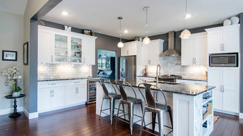 Miller Transitional Kitchen and Bath