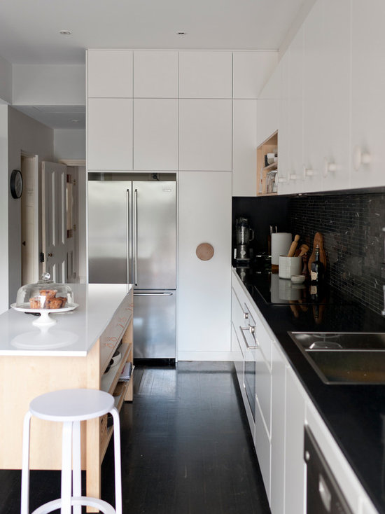 tiling for kitchens black tile backsplash houzz 2817