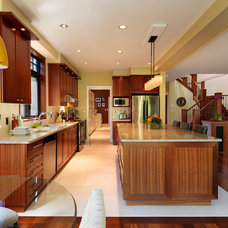 Contemporary Kitchen by Christopher Developments