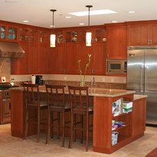 Traditional Kitchen by J. Grant Design Studio
