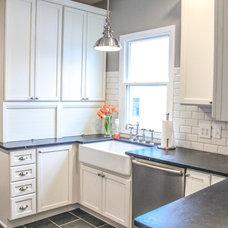 Farmhouse Kitchen by Essence Design Studios