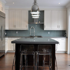 Transitional Kitchen by Woodsmith Construction Inc