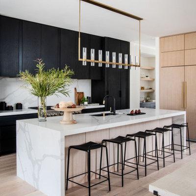 Minimalist kitchen photo in DC Metro