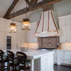 Transitional Kitchen by Keystone Millworks Inc