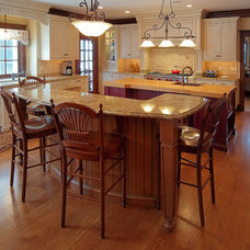 Traditional Kitchen by Tracy Leah Interior Design