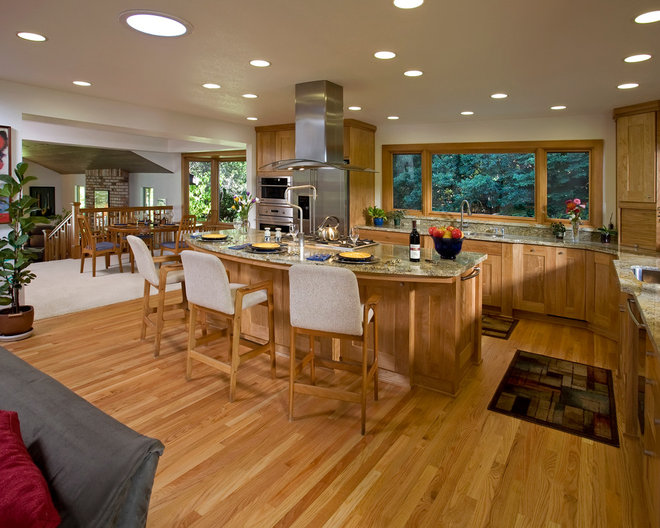 Traditional Kitchen by Eberle Remodeling