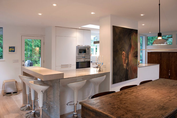 Stunning Contemporary Kitchen by Heather Merenda
