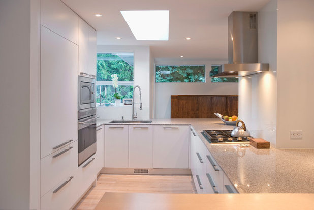 Popular Contemporary Kitchen by Heather Merenda