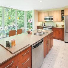 Contemporary Kitchen by Feinmann, Inc.
