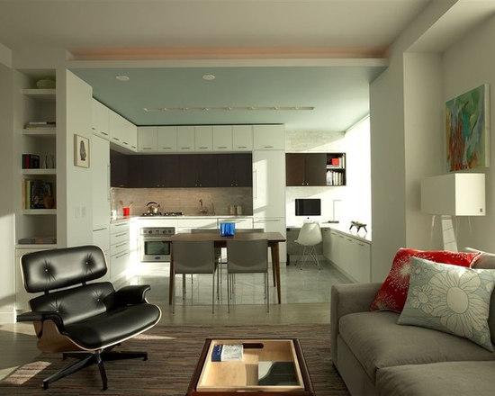 minimalist kitchen design | houzz