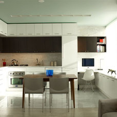 modern kitchen by Urban Homes - Innovative Design for Kitchen & Bath