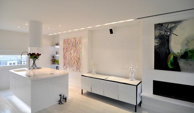 Scandinavian Kitchen by Kia Designs