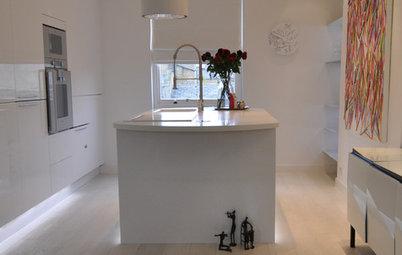 Casas Houzz: Un apartamento lleno de luz en Notting Hill