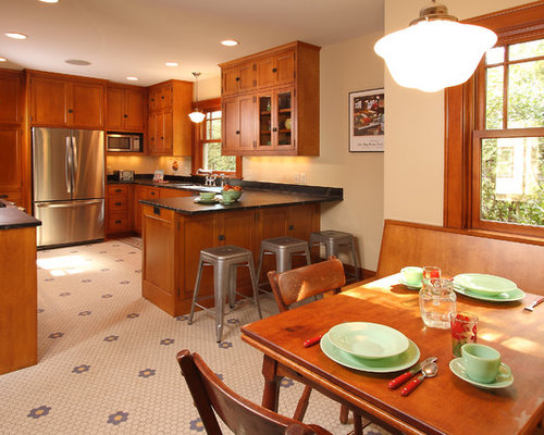 Bungalow Kitchen Houzz