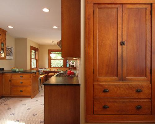 Craftsman cabinet hardware houzz for Craftsmen hardware