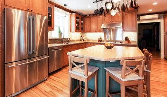 Minneapolis home/ Kitchen & half-bath remodel