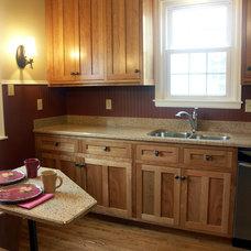 Traditional Kitchen by Ridge Construction LLC