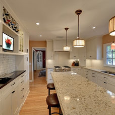 Traditional Kitchen by Highmark Builders