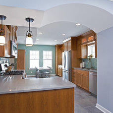 Contemporary Kitchen by Castle Building & Remodeling