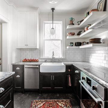 Minnehaha Modest-Sized Kitchen