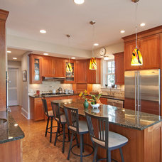 Contemporary Kitchen by House Lift Remodeler
