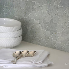 Beach Style Kitchen by New Ravenna Mosaics