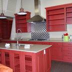 Environmentally Friendly Farmhouse Kitchen