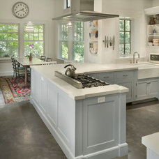 Traditional Kitchen by ConcreteWorks East