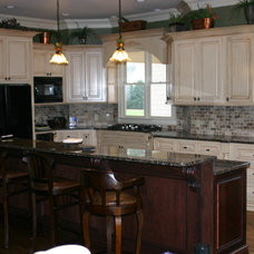 Traditional Kitchen by High Country Cabinets
