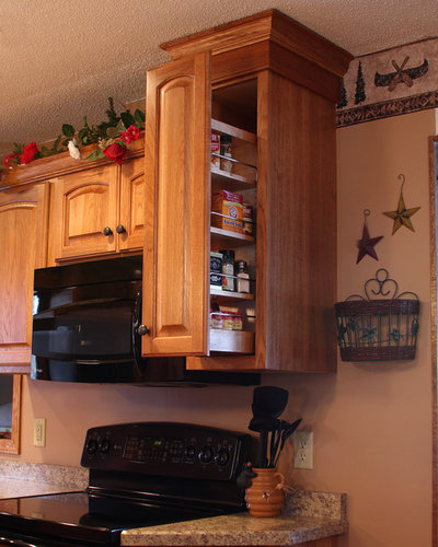 How to Add a Pullout Spice Rack